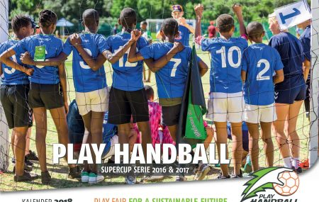 Get your exclusive PLAY HANDBALL CALENDAR 2018 as a thank you for your donation of 25 € or more! And furthermore with your #donation you #help us to give young people in #Africa a perspective with #handball. The #calendar shows 12 moments of the PLAY HANDBALL Supercup series in South Africa.