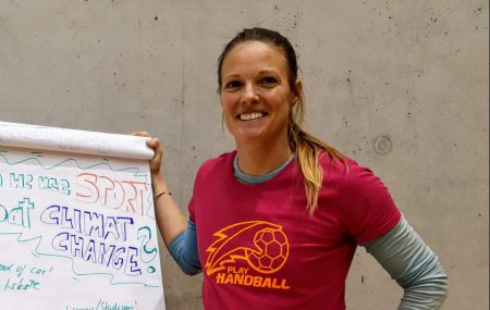 Nicola Scholl taught Play Handball's educational games to the students at the first intensive coure on SPD of the Global Sport for Development and Peace Knowledge Collaborative that took place in Olomouc, Czech Republic from 3.02-09.02.20. Click here to see the Video. Click here to see the report.